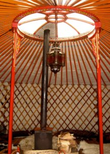 in-yurt